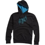 Stenciled Head Pullover Fleece Hoodie