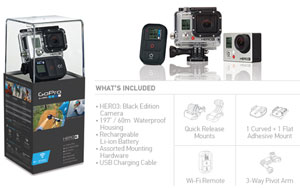 GoPro - Hero3 Black Edition