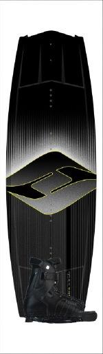 Hyperlite - 2012 Tribute 137 w/Focus Wakeboard Package
