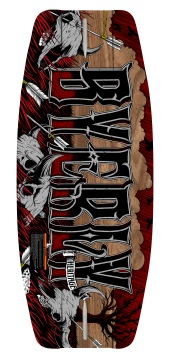 Hyperlite - 2012 Byerly Heritage 42 Wakeskate