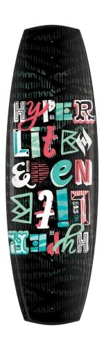 Hyperlite - 2013 Eden 125 Wakeboard