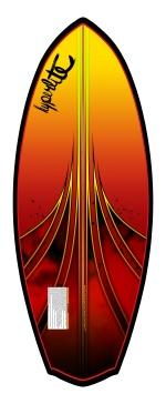 Hyperlite - 2013 Shim 4.7 WakeSurf Board