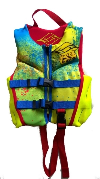 Hyperlite - Boys Child Indy Vest Blu/Yellow