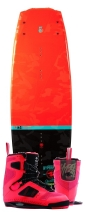 Hyperlite - 2015 Franchise 134 w/Team CT Wakeboard Package