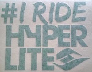 Hyperlite - I Ride Hyperlite Die-Cut Sticker