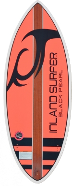 Inland Surfer - 4Skim Black Pearl WakeSurf board