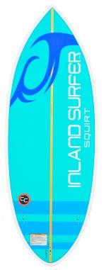 Inland Surfer - 4Skim Squirt Wakesurf Board