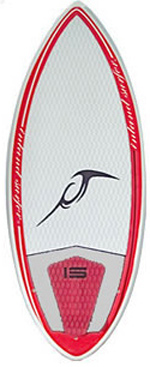 Inland Surfer - 4-Skim Contagious - Tri Fin Wakesurf
