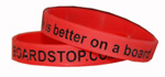Boardstop - Life Is Better On A Board Wristband