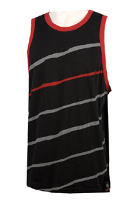 Liquid Force - PlayDown Stripe Tank T Shirt