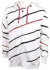 Play Down Stripe Fleece Sweatshirt
