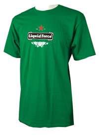 Liquid Force - Red Light T Shirt