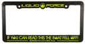 Wakeboard License Plate Frame