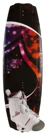 Liquid Force - 2012 Luna 128 w/Transit Wakeboard Package