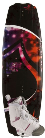 Liquid Force - 2012 Luna 133 w/Transit Wakeboard Package