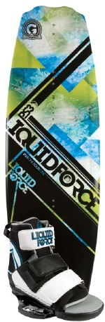 Liquid Force - 2012 PS3 Grind 141 w/Domain Wakeboard Package