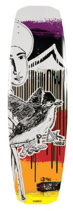 Liquid Force - 2012 Peak 132 Wakeboard