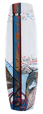 Liquid Force - 2012 Watson Hybrid 143 Wakeboard