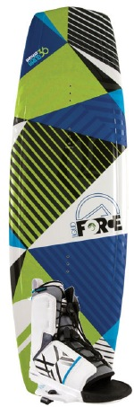 Liquid Force - 2012 Witness Grind 136 w/Transit Blue Wakeboard Package