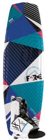 Liquid Force - 2012 Witness Grind 140 w/Transit Blue Wakeboard Package
