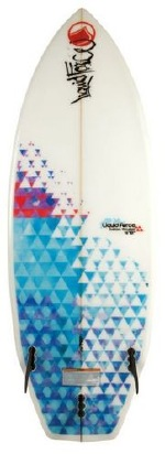 Liquid Force - 2013 4'10 Thruster Wakesurf Board