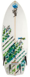 Liquid Force - 2013 5' Quad Wakesurf Board