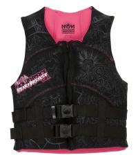 Liquid Force - Heartbreaker Black/Pink CGA Womens Vest