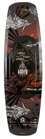 Liquid Force - 2013 Deluxe Hybrid 143 Wakeboard