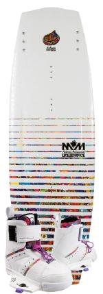 Liquid Force - 2013 Melissa Hybrid 131 w/Melissa Wakeboard Package