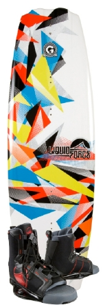 Liquid Force - 2013 PS3 Grind 137 w/Index Wakeboard Package