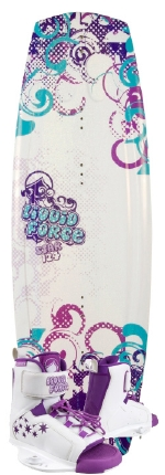 Liquid Force - 2013 Star 124 w/Star Wakeboard Package