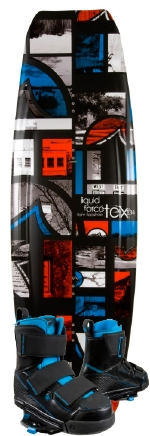 Liquid Force - 2013 Tex 134 w/Vantage CT Wakeboard Package