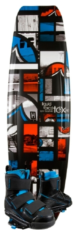 Liquid Force - 2013 Tex 142 w/Vantage CT Wakeboard Package