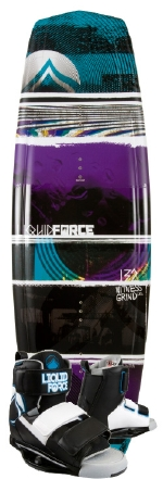 Liquid Force - 2013 Witness Grind 132 w/Domain Wakeboard Package