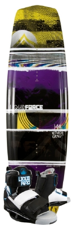Liquid Force - 2013 Witness Grind 144 w/Domain Wakeboard Package