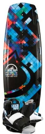 Liquid Force - 2013 Witness 136 w/Domain Wakeboard Package