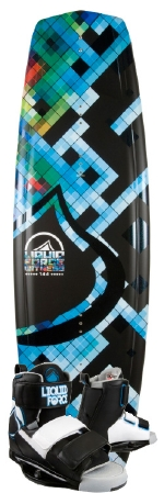 Liquid Force - 2013 Witness 144 w/Domain Wakeboard Package