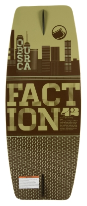 Liquid Force - 2013 Faction 42 Wakeskate Foam Top