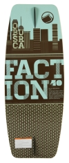 2013 Faction 40 Wakeskate Foam Top