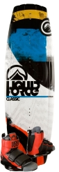 Liquid Force - 2014 Classic 134 w/Domain Wakeboard Package