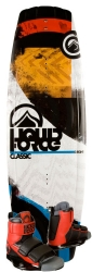Liquid Force - 2014 Classic 138 w/Domain Wakeboard Package