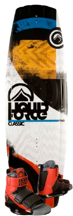 Liquid Force - 2014 Classic 142 w/Domain Wakeboard Package