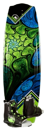 Liquid Force - 2014 Trip 134 w/Index Wakeboard Package