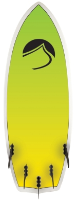 Liquid Force - 2014 Custom Fiver 4'8