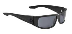 Spy Sunglasses - Cooper Sunglasses - Matte Black/Grey Polarized