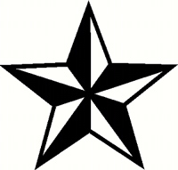 Boardstop - Nautical Star Sticker