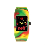Neff - Bandit Watch - Rasta Swirl