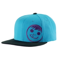 Neff - Corpo Cap Adjustable Cyan/Black