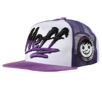 Neff - Rippin Cap Adjustable White/Purple