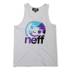 Neff - Corpo Stripe Tank - Athletic Heather